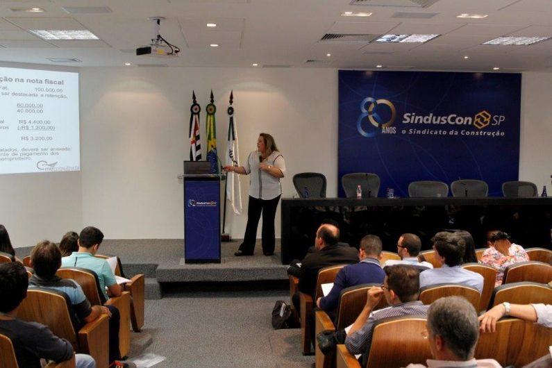 Marteleve Carvalhaes, palestrante, 4º Seminário Nacional - Legislação e Tributação na Construção Civil