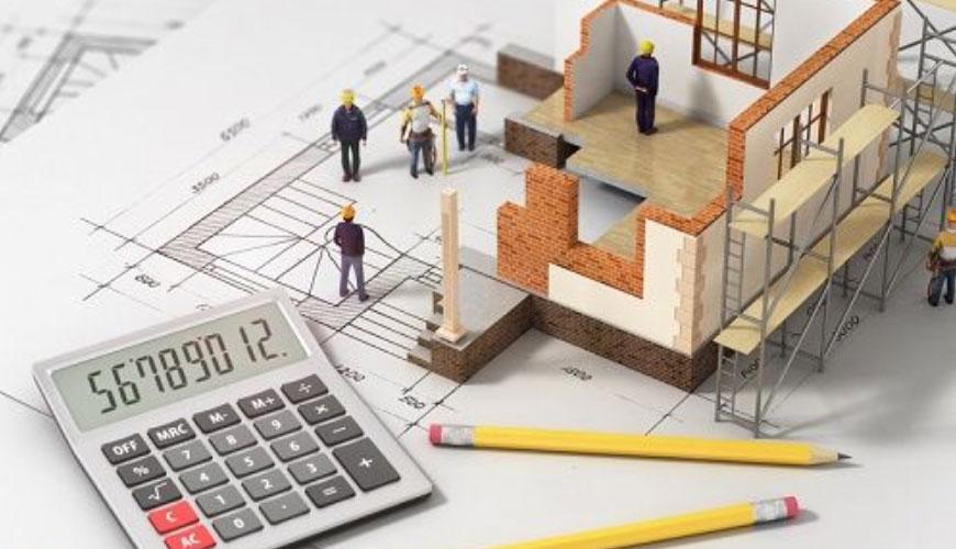 calculo de orçamentos para o setor imobiliário e construção civil